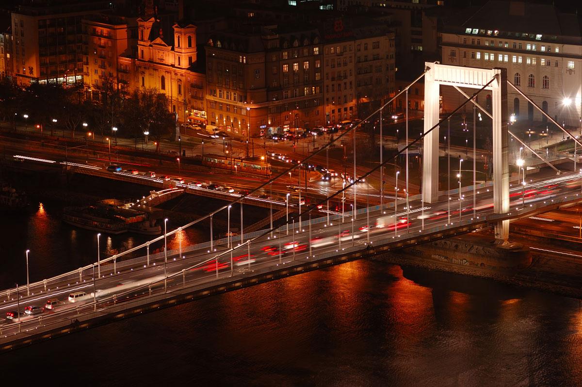 le bridge Élizabets á Budapest
