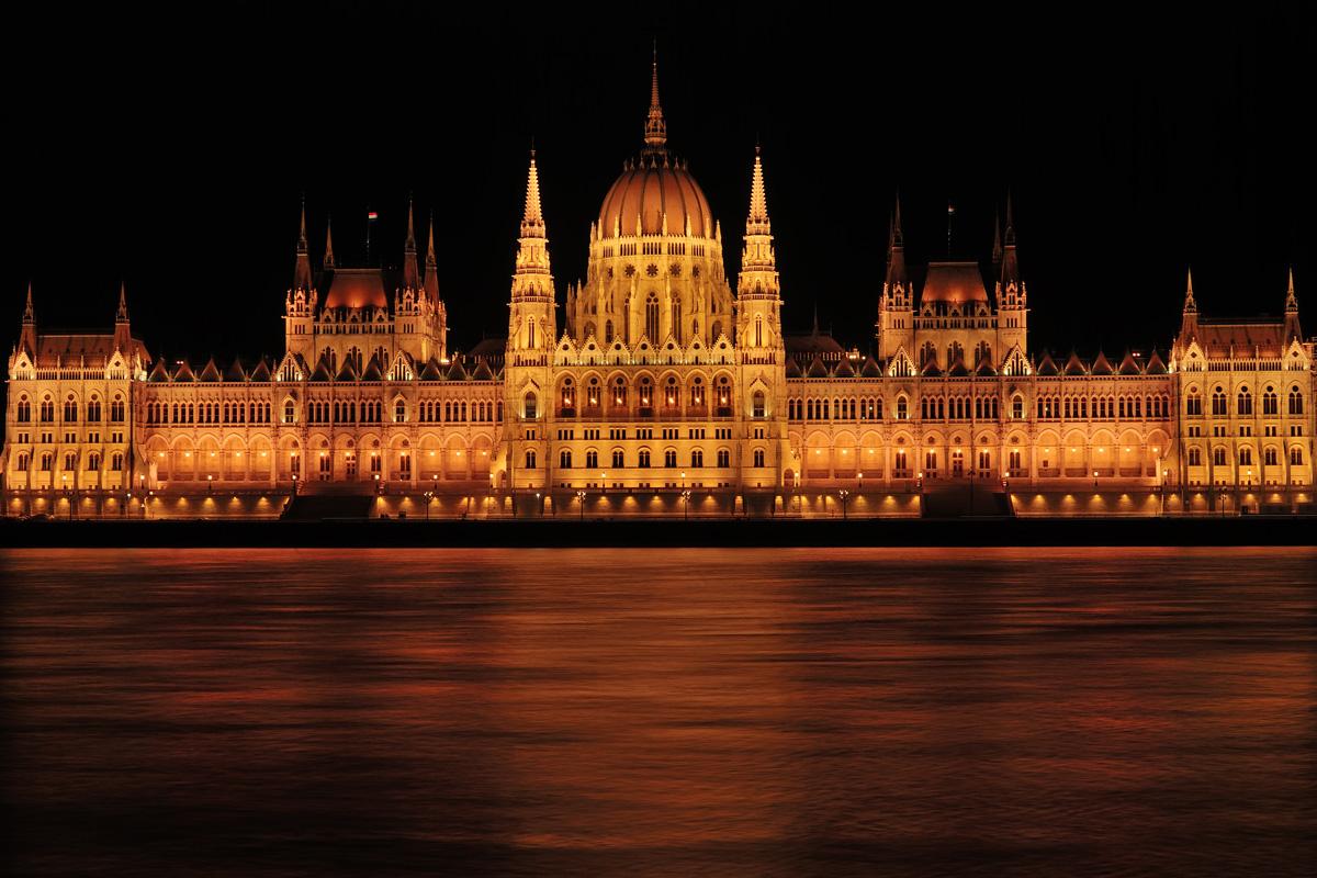 Le Parlement á Budapest