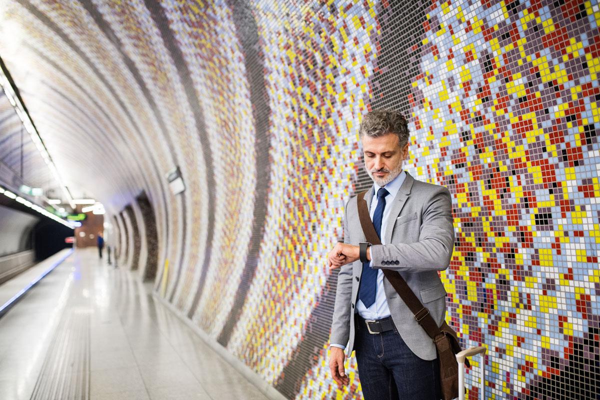 La station de métro á Budapest