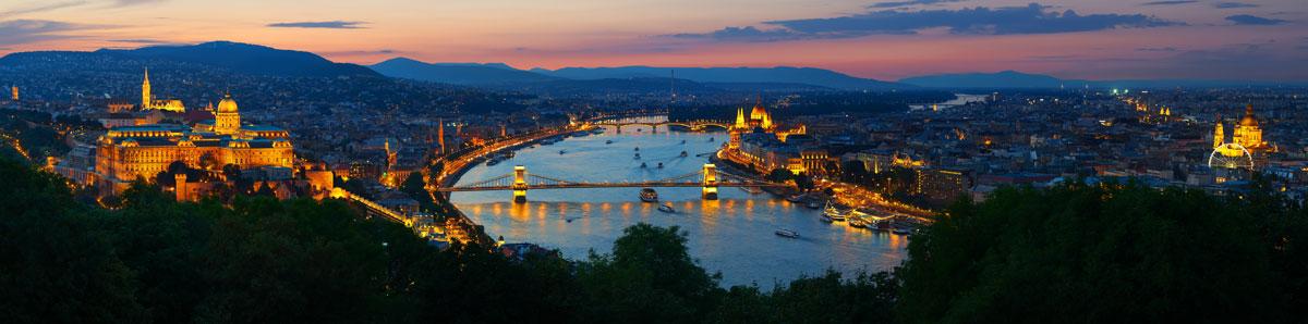 La vue de Budapest