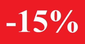 Photo d'une remise de 15%