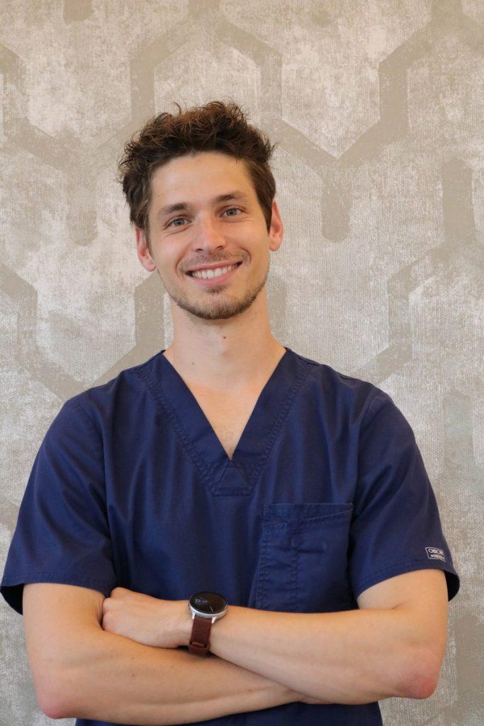Photo sur un dentiste